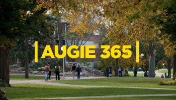 Augustana University students share their stories by video.